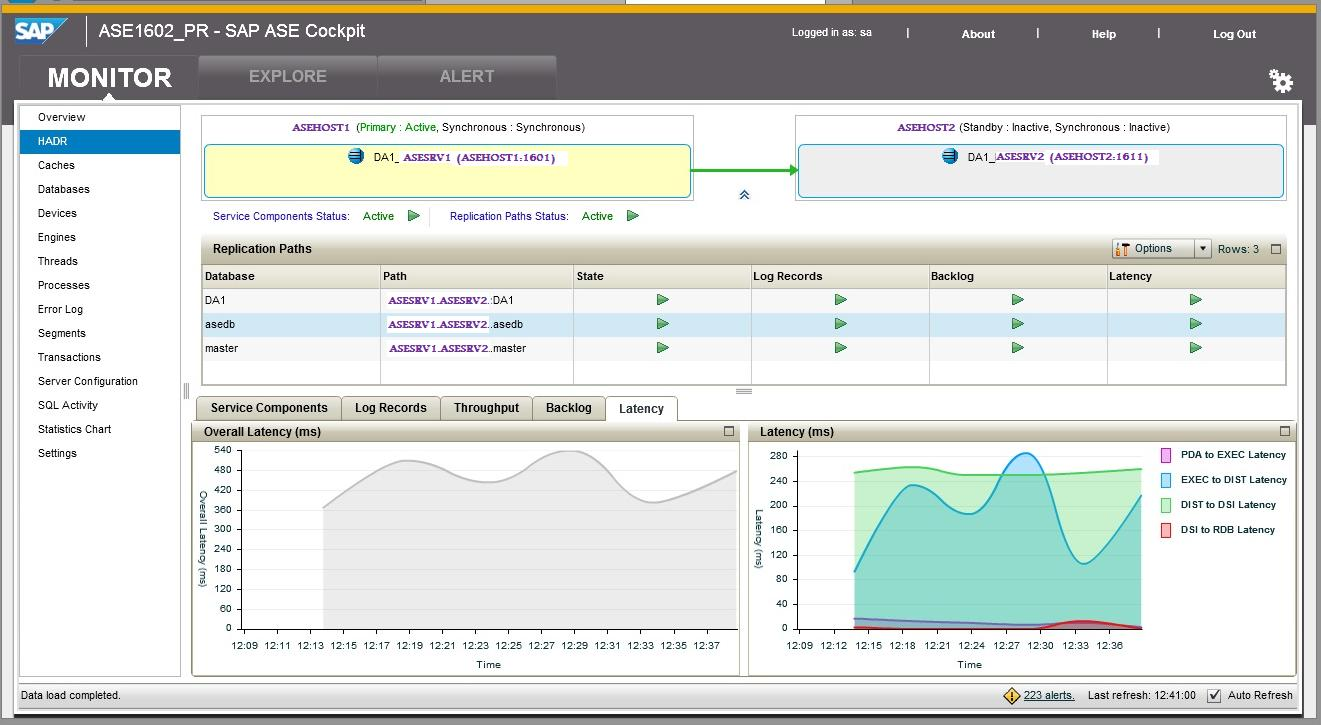 Hadr a glimpse at ase hadr instance beyond sap blogs primary ase log status 1betcityfo Image collections
